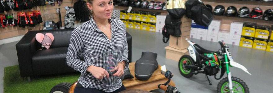 équipements pour sa moto